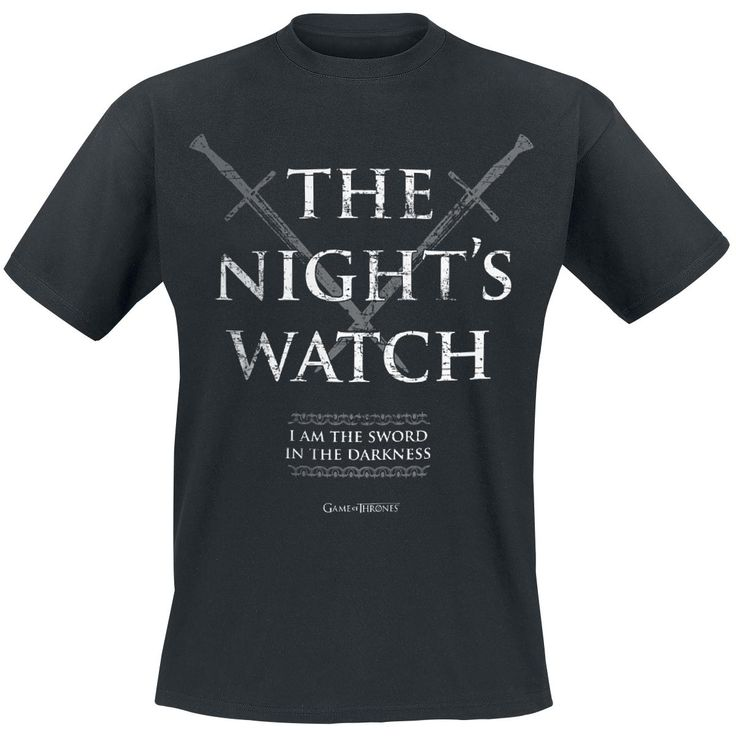 The Night's Watch - T-Shirt - Gra o Tron