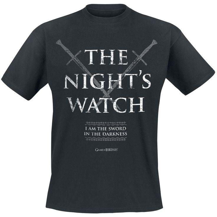 The Night's Watch - T-Shirt - Gra o Tron