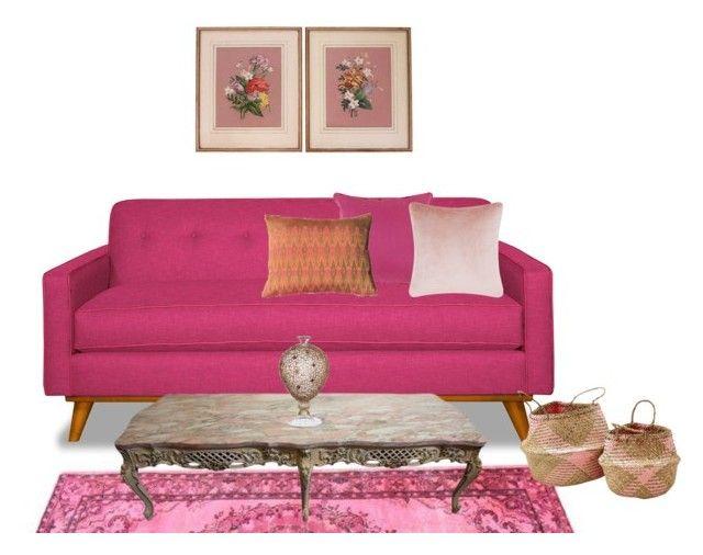 Pink home by perpetto on Polyvore featuring interior, interiors, interior design, dom, home decor, interior decorating, Tom Dixon and Décor 140
