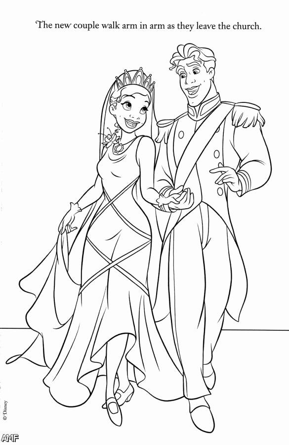 Disney Couples Coloring Pages Luxury Disney Princess Tiana Coloring Pages 2015 2016 In 2020 Frog Coloring Pages Princess Coloring Pages Disney Princess Coloring Pages