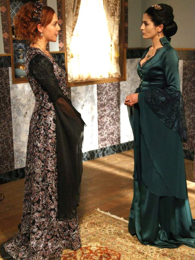 Muhtesem Yuzyil Dress, Hurrem Sultan, Sah Sultan