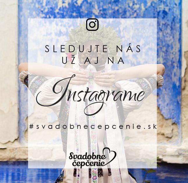 Simple graphic / Instagram / commercial / www.svadobnecepcenie.sk / #svadobnecepcenie.sk/