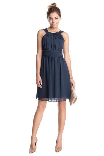 Blaues kleid schuhe