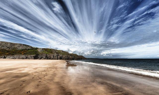 Barafundle Bay by david.ian.roberts, via Flickr