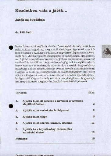 C1-1 - Kezdetben vala a játék - Angela Lakatos - Picasa Webalbumok