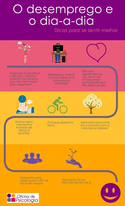 Dicas para quem está entre empregos - ou à procura do 1º. #oficinadepsicologia