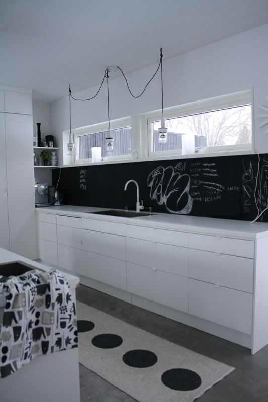 15 best images about backsplash ideas on pinterest - Pizarra de pared ikea ...