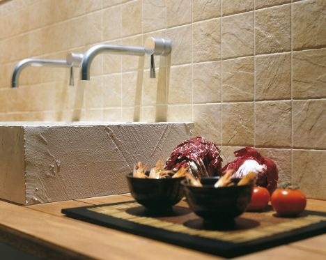 Beige Elena Beige Kitchen Tiles