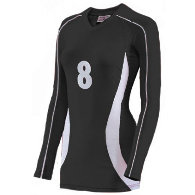 asics long sleeve volleyball jersey | Cobra Long Sleeve Jersey - Ladies Item # TW 1979
