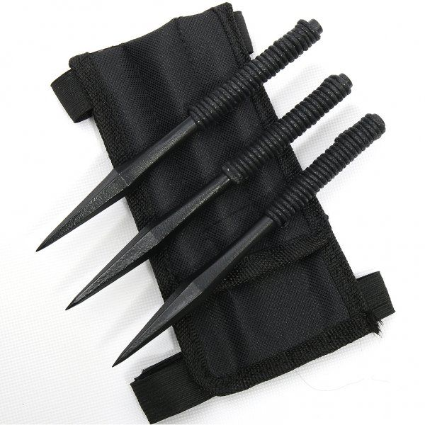 My weapons are throwing spikes since I have pretty good aim. The spikes are a made out of some weird metal, it's the only type that can really hurt my since I'm basically already dead. It's also the only thing that can get rid of any dead that's been summoned by me or my sis since neither of us can quite figure out how to get rid of them once they've been summoned