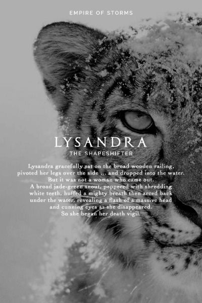 Empire of Storms - Lysandra [Spoilers]