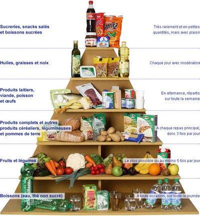 Manger sain infographie sur l'alimentation