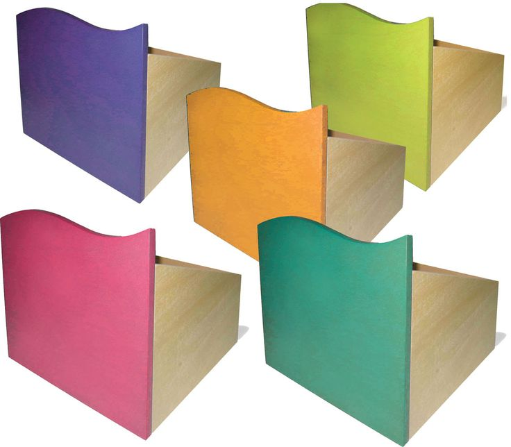 Tropical Kids Storage Boxes, set of 5