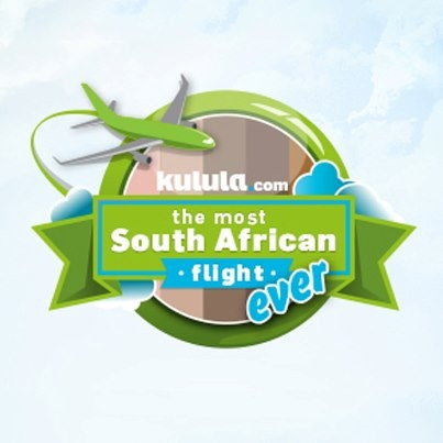 kulula.com invite locals to join  their Most South African Flight Ever in January 2013. Registration is via this Facebook app http://www.facebook.com/iflykulula/app_299437286841541
