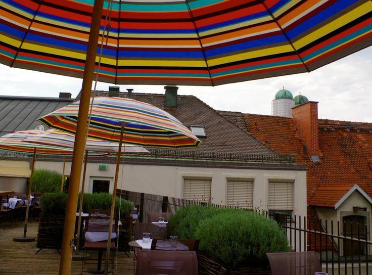 Emiko Roof Terrace. Die schönsten Dachterassen in München.