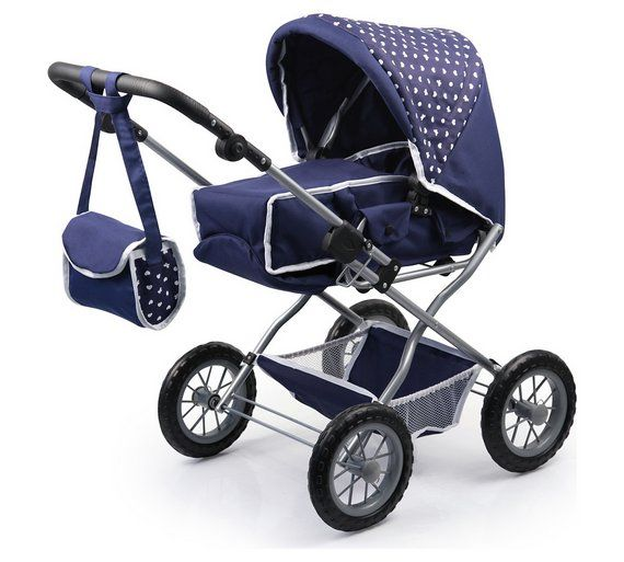 Buy Bayer Dolls Pram Combi Grande Pink Grey at Argos.co.uk, visit Argos.co.uk to shop online for Doll prams and pushchairs, Dolls and playsets, Toys