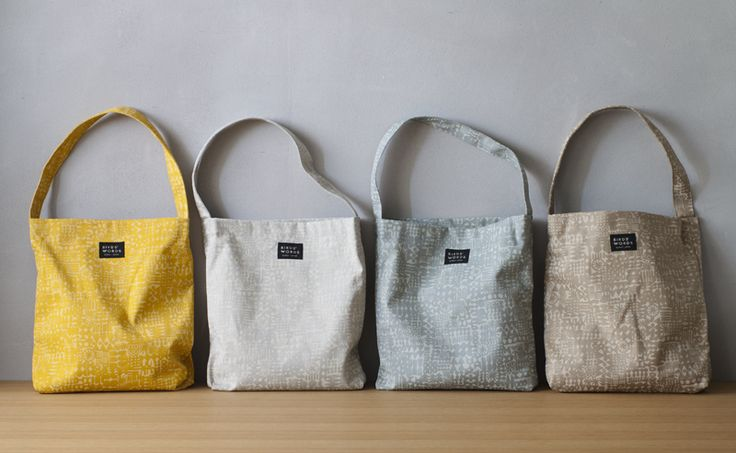 BIRDS'WORDS | バーズワーズ / PATTERNED TOTE