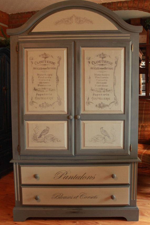 Hand Painted French Country Armoire. Etsy Listing At Https://www.etsy · Lane  FurnitureFurniture ...