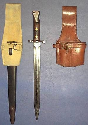 canadian ww2 bayonet