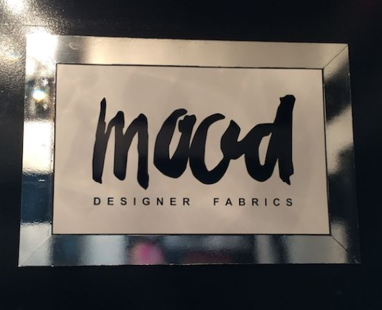 MOOD - NYC's greatest fabric store! A must see in New York! #newyorkcityinspired