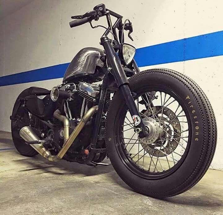 Harley Sportster 48 old school