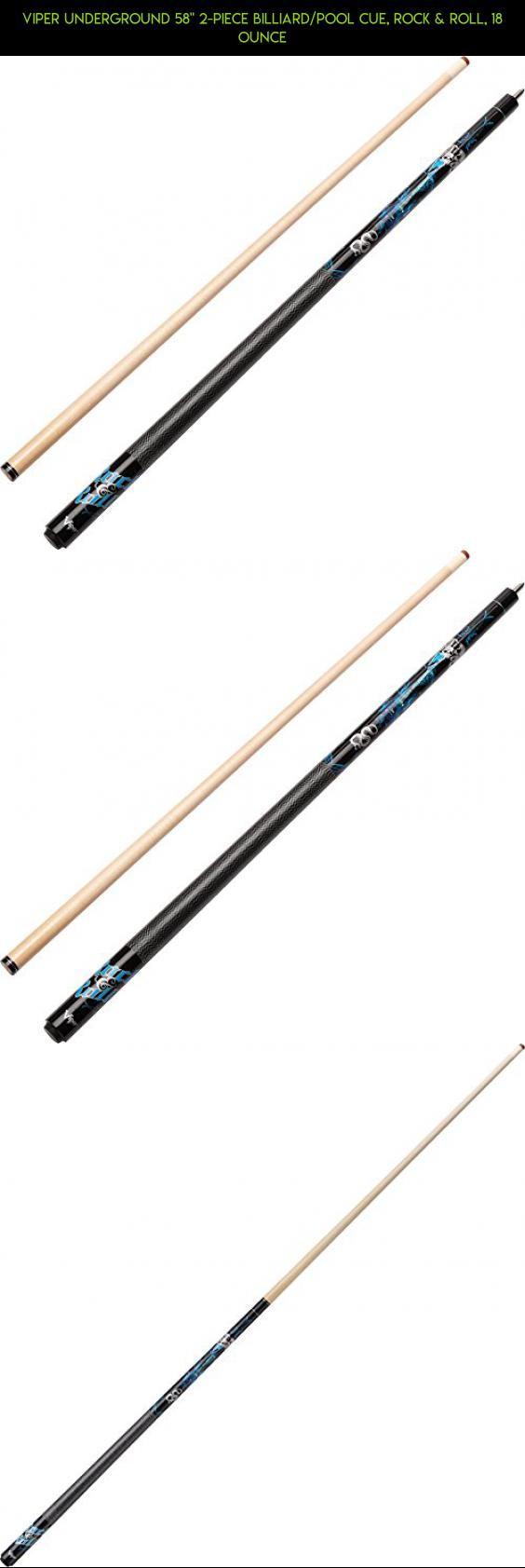 """Viper Underground 58"""" 2-Piece Billiard/Pool Cue, Rock & Roll, 18 Ounce #kit #parts #racing #plans #shopping #camera #products #tech #underground #gadgets #technology #drone #pools #fpv"""