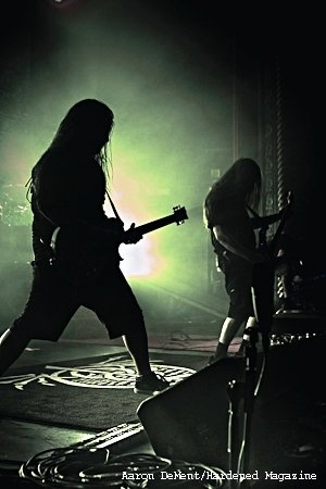Lamb Of God...you don't know these guys if you haven't seen em live. Gives me chills just thinking about it...fucking amazing!