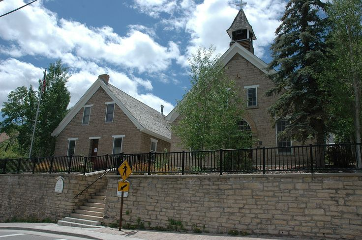 St. Mary of the Assumption Church and School in Summit County, Utah.