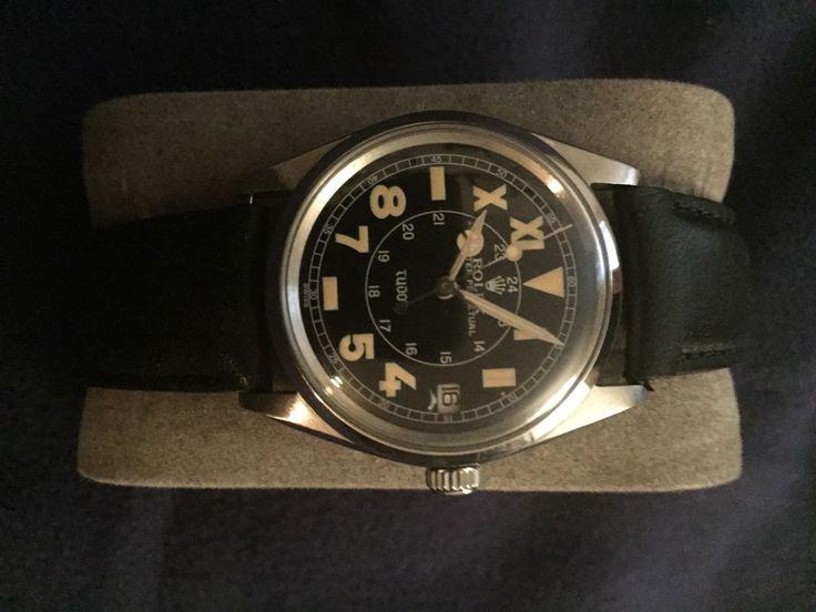 Rolex Tudor Oyster Perpetual, California Dial W/ Date Ref 75000 • $895.00 | PicClick