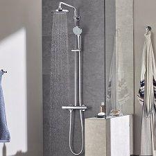 Sistema de ducha Grohe Euphoria System 180 con termostato por 314 euros. Antes 627 euros