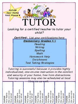 25 Best Tutoring Images On Pinterest Asd Classroom Resources And