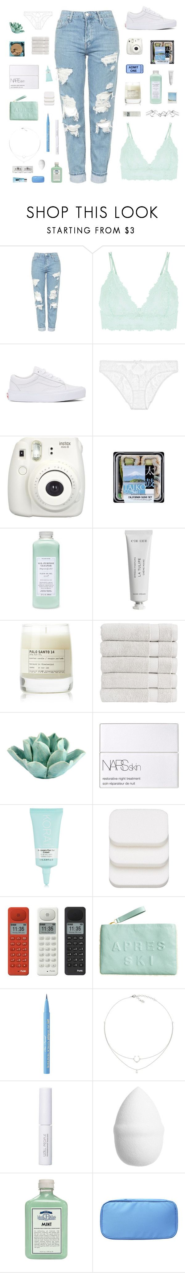 """you're giving me temptation"" by junglex ❤ liked on Polyvore featuring Topshop, Accessorize, Vans, L'Agent By Agent Provocateur, Fujifilm, Williams-Sonoma, Byredo, Le Labo, Christy and Dot & Bo"