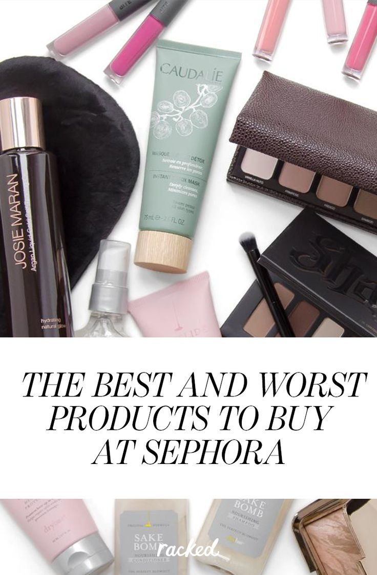 The Best and Worst Products to Buy at Sephora, as Ranked by an Employee: (http://www.racked.com/2015/4/3/8341353/sephora-employee-best-worst-products)