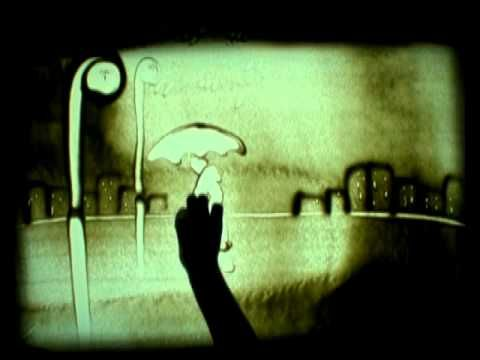 Didi Sand Art - Arte Arena - Rain  Artista mágica que hace arte con arena. Muy entrañable y sorprendente.