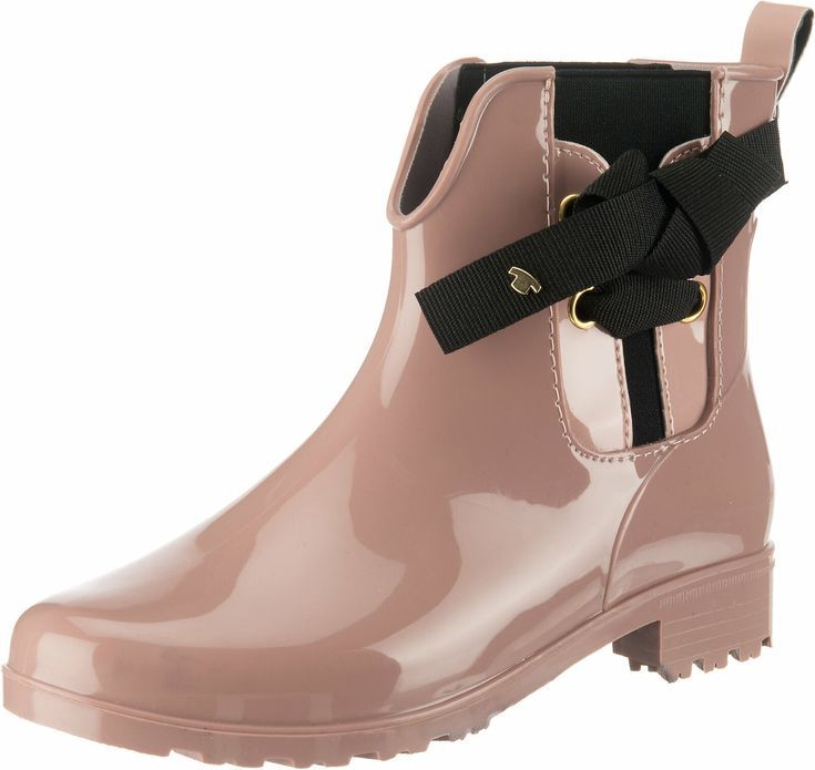New Tom Tailor Rubber Boots 11161302 For Ladies Old Pink Wellington Boots Ideas Boots Wellington Boot Rubber Boots