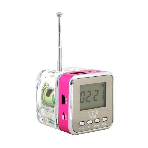 Tera Mini enceinte cube mp3 /Mini Haut-parleur usb/enceinte jack 3.5 +Radio FM +écran LCD+slot de Carte TF/Micro SD pour PC portable, tablette, voiture, auto, MP3 MP4 iPod, iphone, iPad, Samsung Galaxy, Sony, Nokia etc. Rose NiZHi http://www.amazon.fr/dp/B00JUI7QRI/ref=cm_sw_r_pi_dp_rXsFwb0EJRKA4