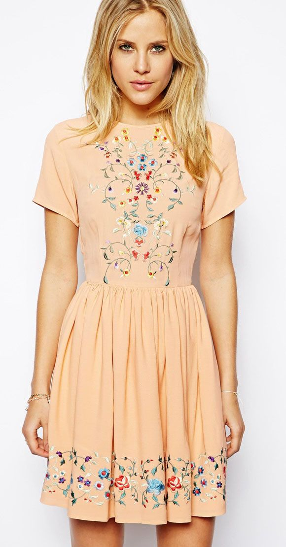 casual dress casual dresses via @Tanya Knyazeva Knyazeva Knyazeva Marie Sandoval