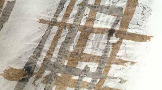 Ian Murphy  Texture Explosion series Linear paper