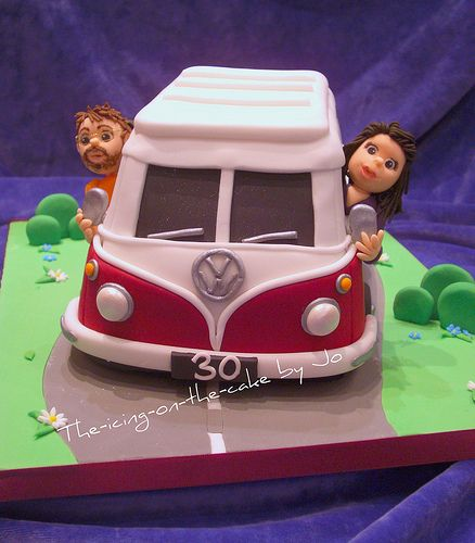 vw bug cake
