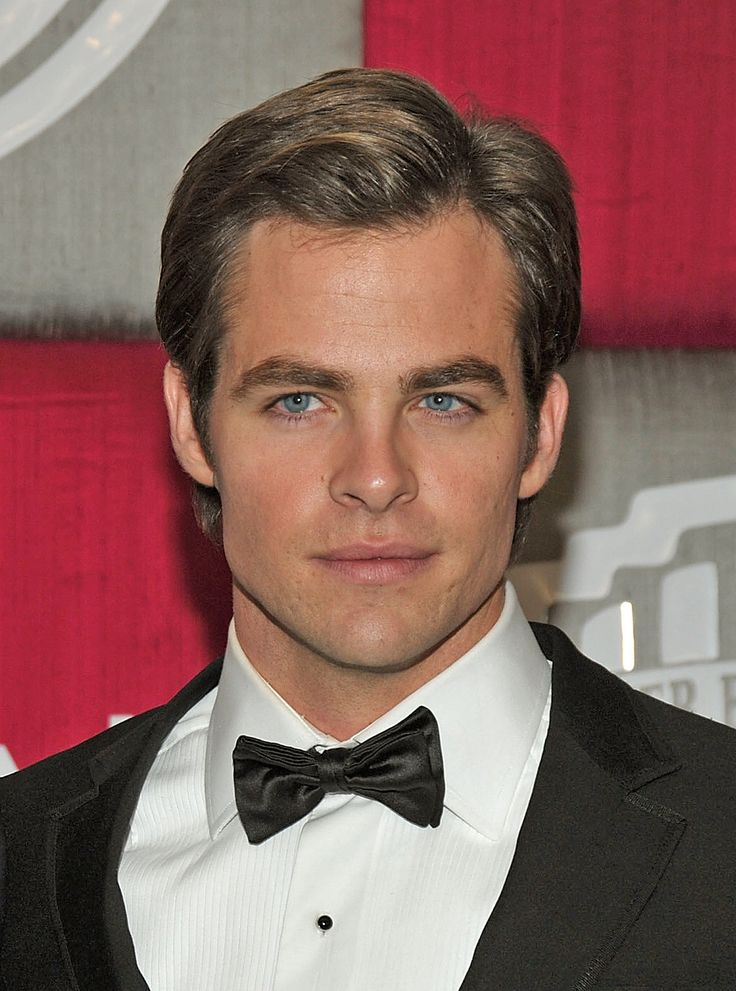 Chris Pine--I don't even know what this guy has been in, but he is so gorgeous I just had to put him in here!