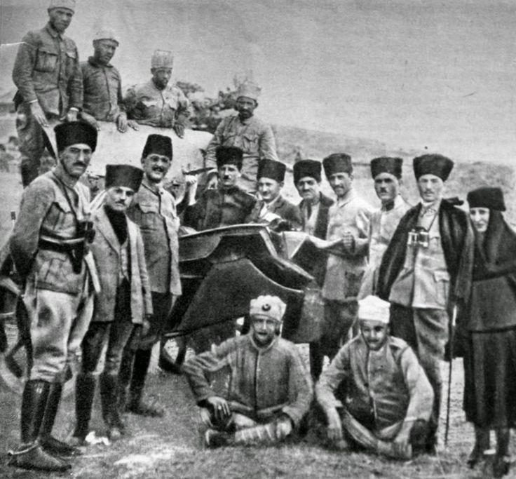Halide onbaşı, Halide edip Adıvar, Polatlı cephesinde...