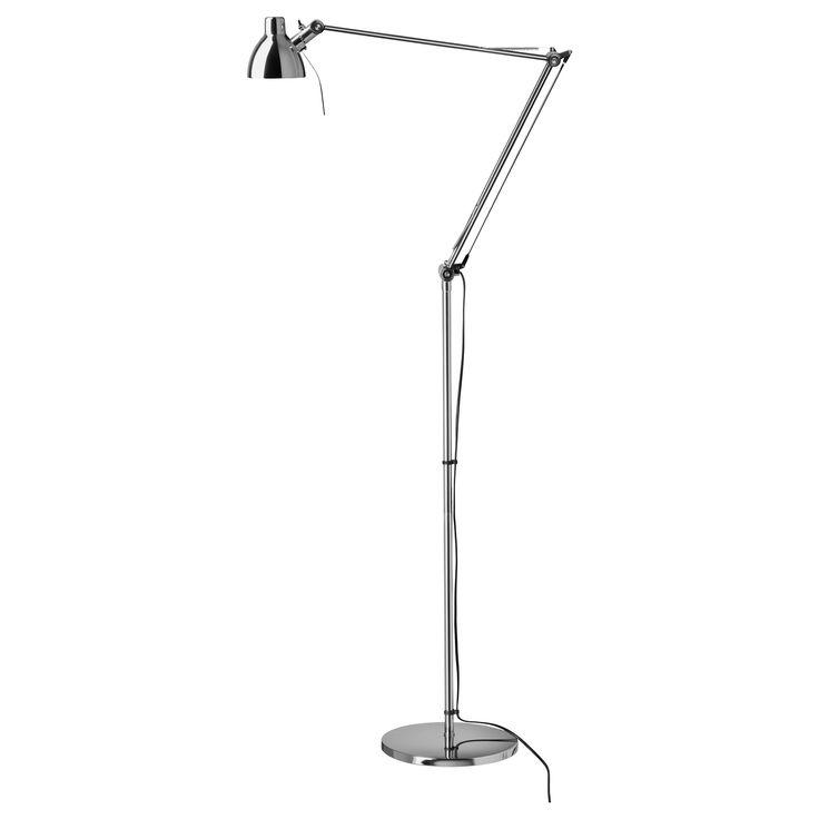 60 best ikea images on pinterest bedrooms bedroom and for Ikea floor standing reading lamp
