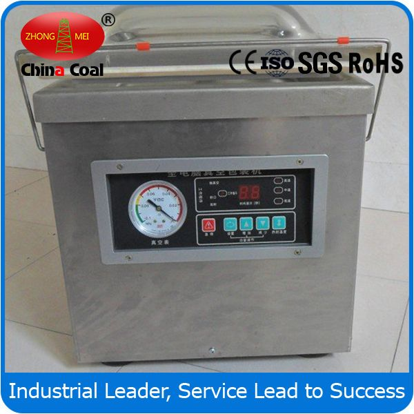 DZ260-D Vacuum Packaging Machine Chinacoal07 : DZ260-D vacuum packing machine, packaging machines, vacuum packaging machine, Vacuum Packaging Machine Sealer, Vacuum Sealer,  Introduction vacuum packaging machine/food vacuum sealer are used to evacuate the air around perishable goods such as food products like cheese and meat whose extension of shelf life is desired. It remove the air from the package at the same time sealing it, delivering the ultimate in protection while extending the…
