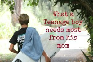 "In my recent post ""What a Teenage boy needs most from his Mom,"" I confessed that the teen years are my favorite.   I love my teen boys, and the glimpses of manhood mixed with occasional…"