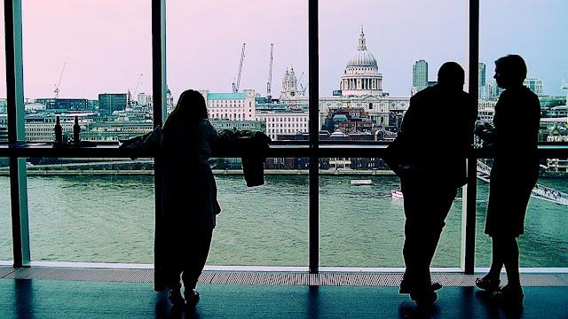 Tate Modern Restaurant. Fee, nearest Tube, Blackfriars or Southwark. Photo by ely z. at eMoving, 2011.