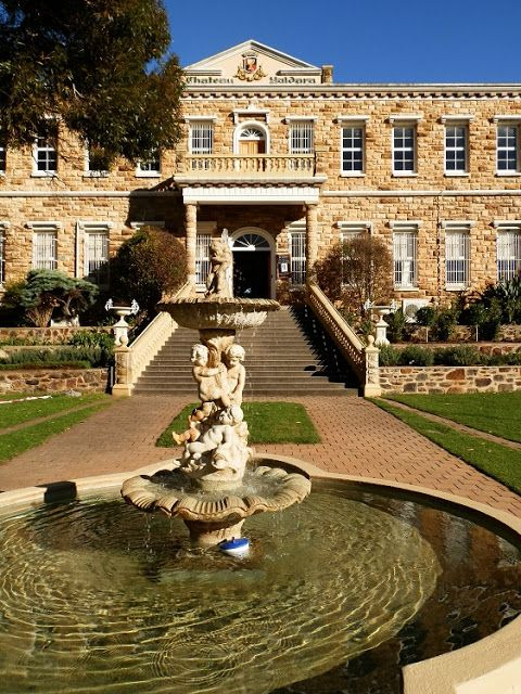 Chateau Yaldara - #Barossa Valley South #Australia - was only built in the 1940's. That's how we do 'history' downunder!