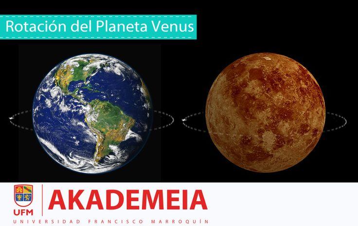 Venus: rotación, fases, estructura, características física y superficie. Visítanos: http://akademeia.ufm.edu/dev/?curso=el-planeta-venus&guest=welcome #planetas #venus #astronomía