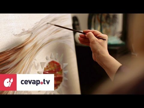 Yagli Boya Resim Yaparken Eskiz Tuvale Nasil Cizilir Painting Videos Painting