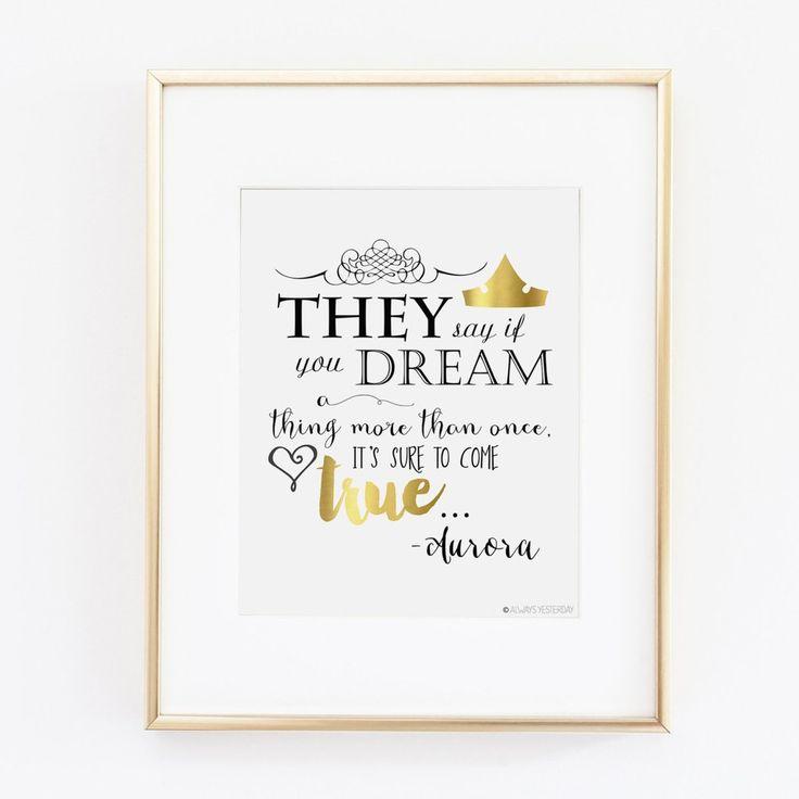 Princess Aurora They Say If You Dream Princess Artwork