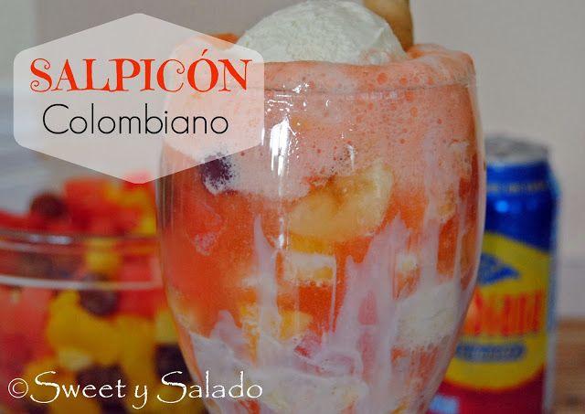 Sweet y Salado: Salpicón Colombiano